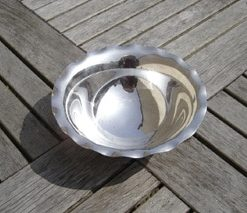 Ex Cunard Silverplate Bowl