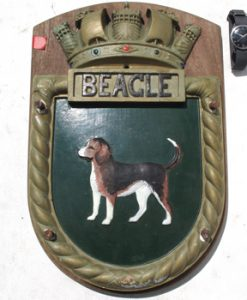 HMS Beagle Screen Badge 1967