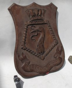HMS Curacoa Wardroom Badge