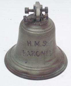 Bell from HMS Baronia