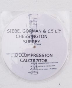 Siebe Gorman Decompression Calculator