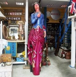 Burgh Island Collection Ships 9ft Figurehead