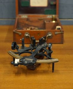 WW2 3 Ring Sextant by Heath & Co Eltham London