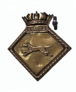 Royal Navy Screen Badge - HMS Harrier 1934