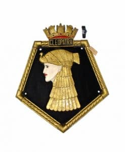 Royal Navy WW2 Screen Badge - HMS Cleopatra 1940