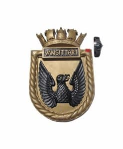 Royal Navy WW2 Screen Badge - HMS Vansittart 1919