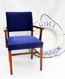 Reclaimed Passenger Ship's Dining Room Chair