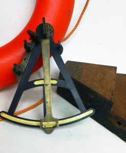 Ebony 19th Century Octant - Spencer Browning & Rust