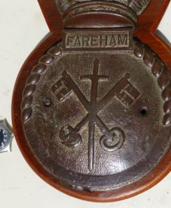 Hms Fareham Ships Badge 1918