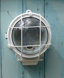Industrial Ships Bulkhead Light  - White