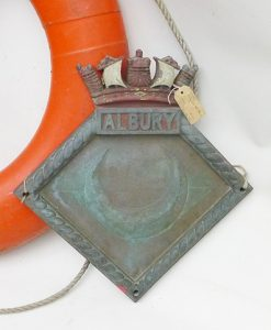 HMS Albury Screen Badge 1918