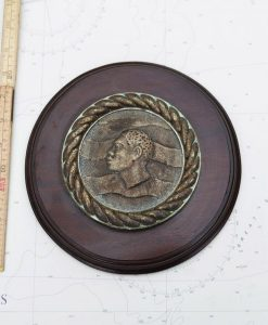 Original Royal Navy HMS Nubian Boat Badge - WWll