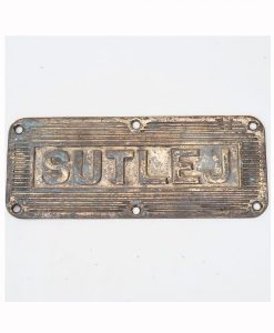 Royal Indian Navy HMIS Sutlej Ships Tread Plate - 1940