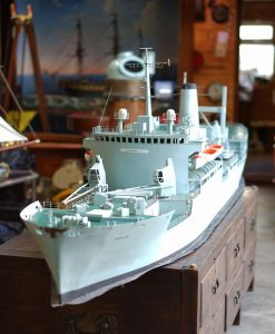 Royal Navy Copper Qinetiq Model - RFA Tarbatness