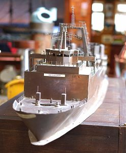 Royal Navy Copper Qinetiq Model - HMS Challenger