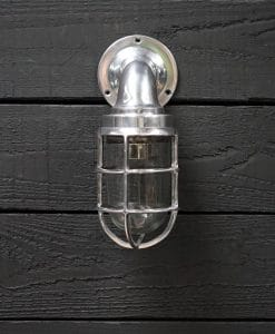 Aluminium Swan Neck 90 Degree Passage Wall Light - Large