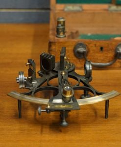 Hayes Brothers Three Ringed Frame Sextant