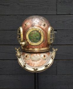 Rare Early Siebe Gorman 3 Window 12 Bolt Diver's Helmet