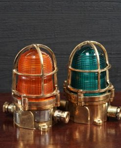 Original Pauluhn USA Bronze Helipad Light