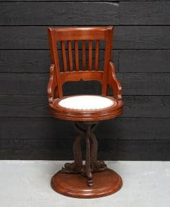 19th Century Ocean Liner Low Arm Dining Chair