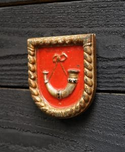 Royal Navy WW2 Boat Badge - HMS Duncan 1933