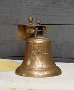 Royal Navy WW2 Ship's Bell - HMS Barmill 1940