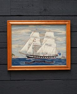 Woolwork Picture of Royalist - Sea Cadet Training Ship