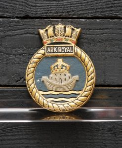 Royal Navy HMS Ships Badges and Tampions